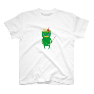 おばけTシャツ<クリームソーダになりたい河童> T-shirts