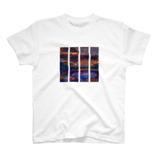 大自然の力 ストライプ T-shirts