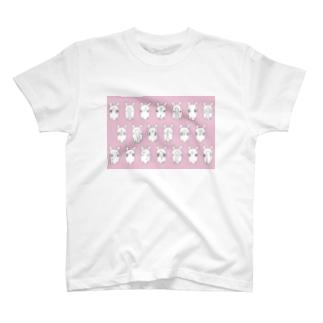 お顔いっぱいシンプルバージョン T-shirts