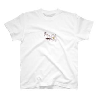 居酒屋にゃん T-shirts