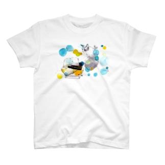 積ん読、お猫 T-Shirt