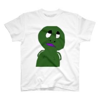 進撃のKAME Tシャツ T-shirts