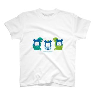 忍者犬たろうくん_変身「ヘビ」 T-shirts