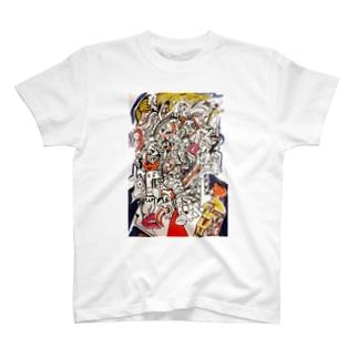 fuck トランプ T-shirts