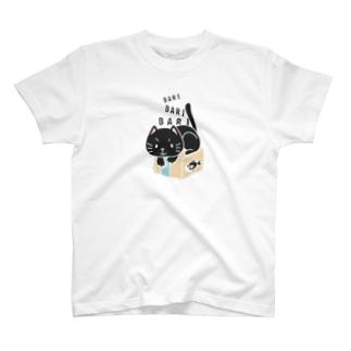 CT150 ねっこのバリバリ*イラストサイズノーマルver. T-shirts