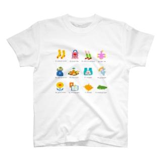 わちゃぽなアイコン🏓 T-shirts