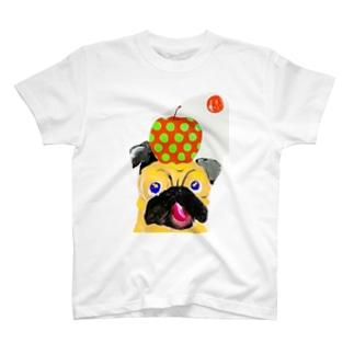パグさんTシャツ🍎 T-Shirt
