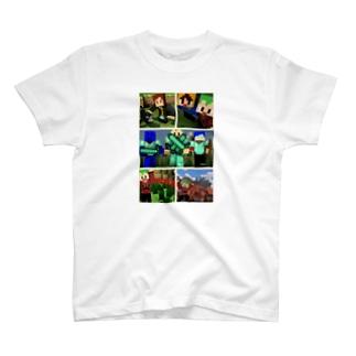 くろメモリアル T-shirts