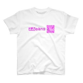 BeansQRコード T-shirts