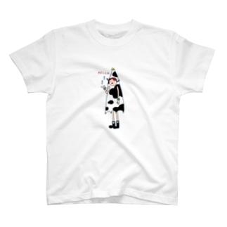 レーラ(牛柄) T-shirts