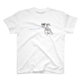 風が気持ちいい~! T-shirts