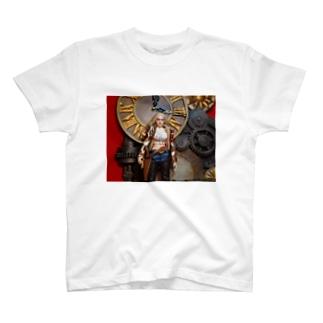 ドール写真:金髪美少女ガンファイター Doll picture: Blonde gunfighter T-shirts