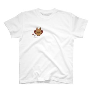 白狐のてこちゃん♀ T-shirts