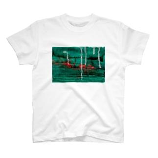オリーブの銃 T-shirts