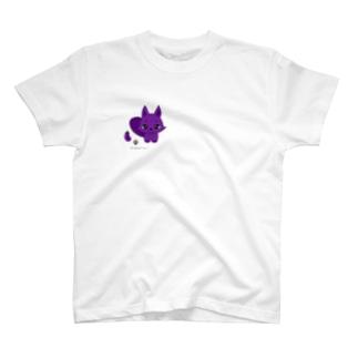 白狐のいこちゃん♂ T-shirts
