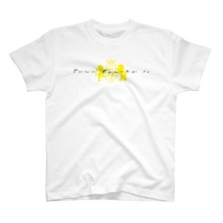片面ロゴTシャツ T-shirts