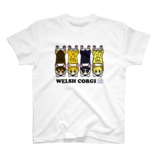 胴長4コギT T-shirts