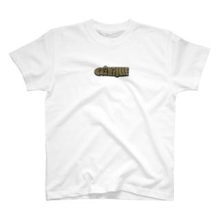Chanpulle logo ブラウン T-shirts