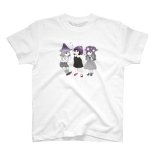 三つ子の毒キノコ T-shirts