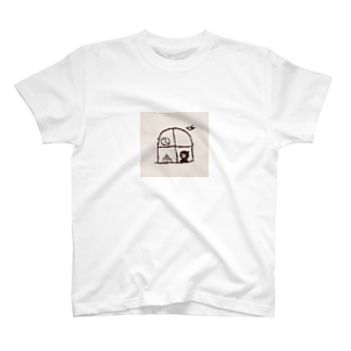 喫茶灯火(窓辺) T-shirts