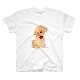 トイプードルTシャツ T-shirts