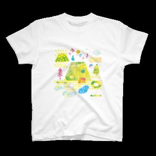BURE-BUREのMOUNTAIN PLAY T-shirts