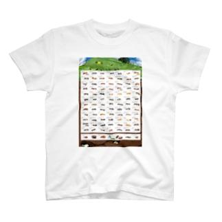 日本産蟻図鑑+α T-Shirt