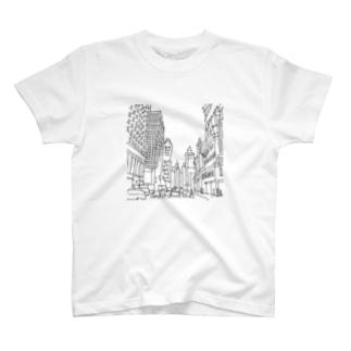 さぁや in Manhattan T-shirts
