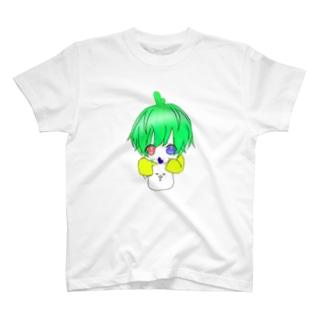 Lとマスコットキャラクターシリーズ T-shirts