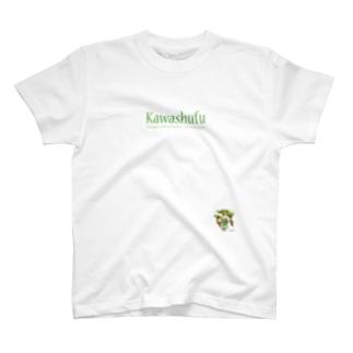 かわいい主婦の1日 ボタニカル柄4 T-shirts