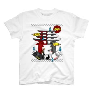 四尾*妖の夜 T-shirts