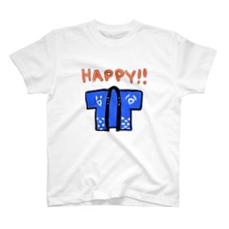 HAPPY!! T-shirts