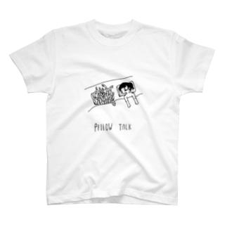 pillow talk Tシャツ