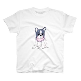 いぬけんやさんのフレンチブルドッグTシャツ T-shirts