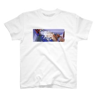平成に取り残されたおんなのこたちへ(写真と文字ver) T-Shirt