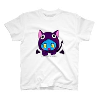 九十九シカ(使い魔コス) 文字付き T-shirts