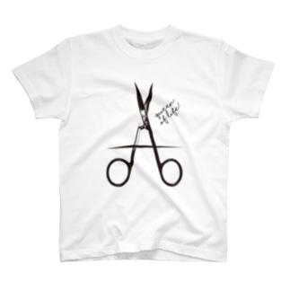 Scissors_A T-shirts