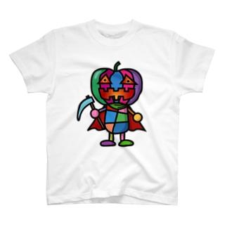 colorful pumpkin T-shirts
