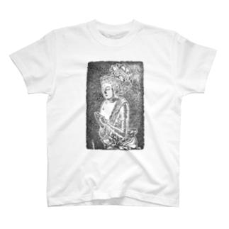 GUNTAPのデカデカSEISI-BOSATSU T-Shirt