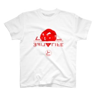 テクノとみっぴーT赤 T-shirts