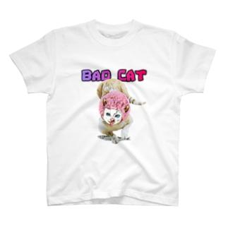 BAD CAT ランチ T-Shirt
