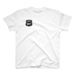 NEAT001ロゴワンポイントTシャツR T-shirts