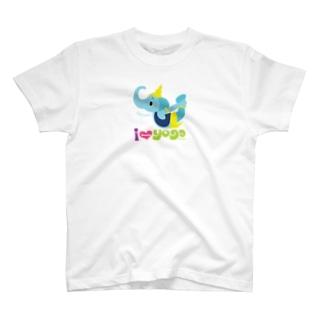 FOXY COLORSのヨガの先生ガネゾーくん T-Shirt