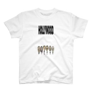 HOLLYWOOD(カラー) T-shirts
