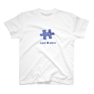 ラブアンドジグソーちゃん T-shirts