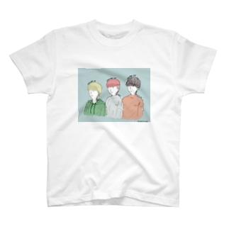 スリーダーズTシャツ T-shirts