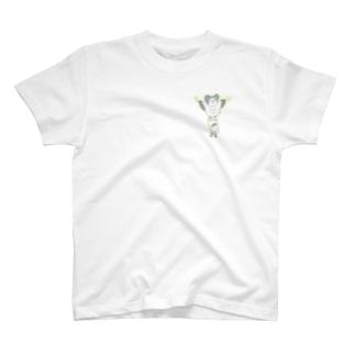 あやさんの色の薄いカンムリクマタカ T-shirts