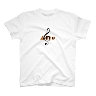 Alto コーラスTシャツ T-shirts