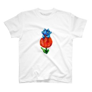 Triceratops -tulip- T-shirts
