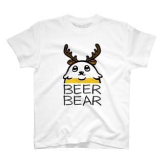 ビアベアTシャツ T-shirts